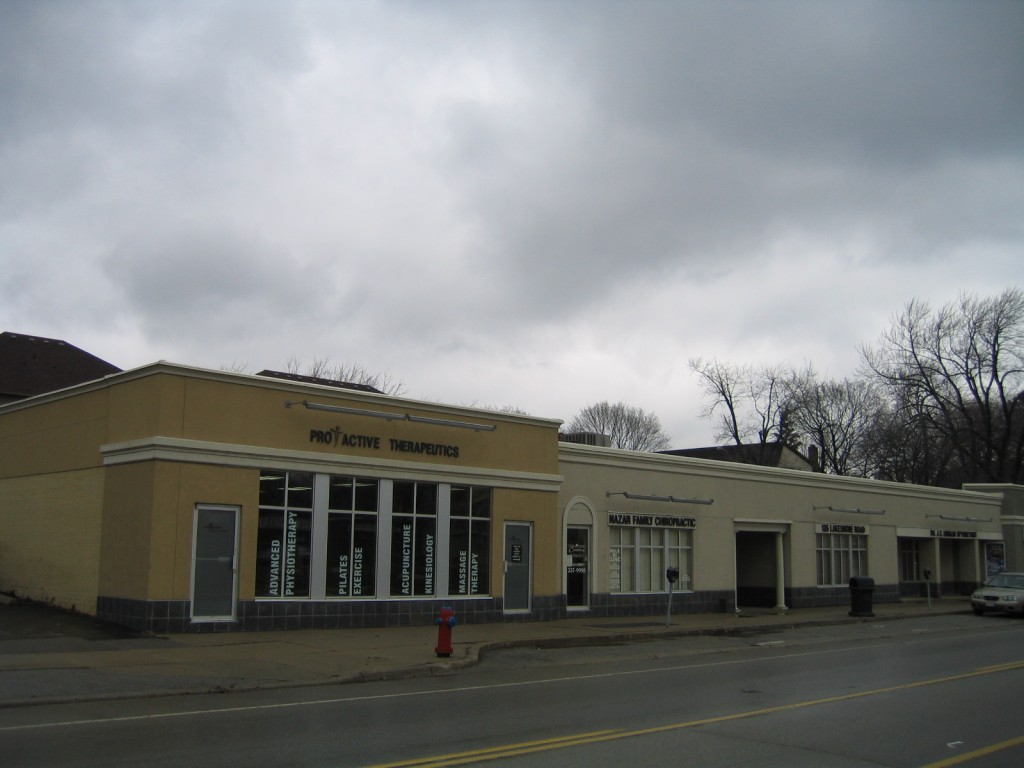 Commercial Stucco Small Plaza Oakville